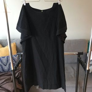 JCrew Black Shift Dress